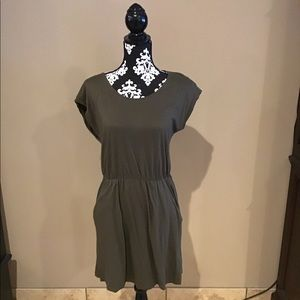 Olive green, comfy dress from H&M!